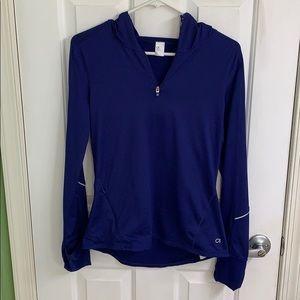 Dark blue/purple half zip from Gap size small